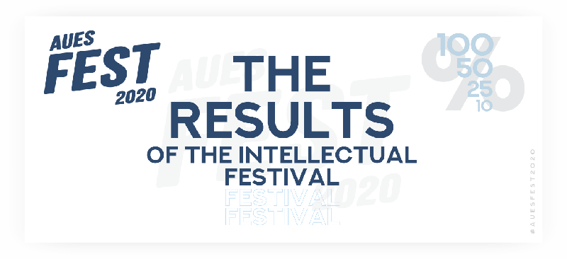 The results of the intellectual festival AUPET FEST have been announced