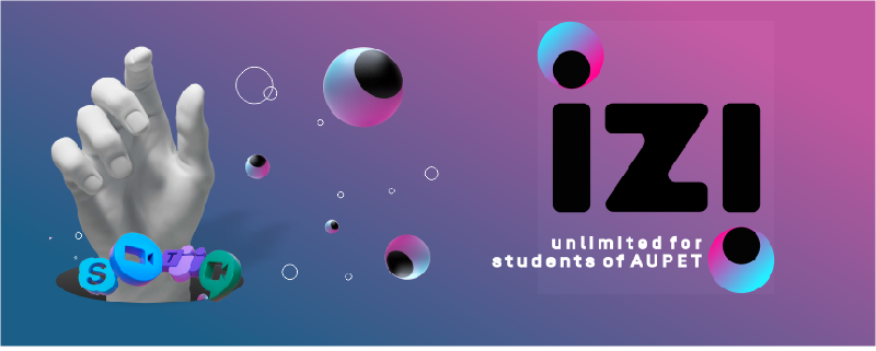 Digital mobile operator izi offers a special unlimited rate for studying remotely